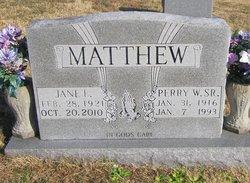 Jane F. Matthew
