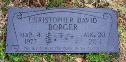 Christopher David Chris Borger