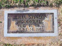 Julia <i>Stinson</i> McConnell