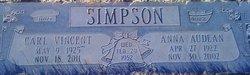 Carl Vincent Simpson