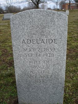 Adelaide <i>Anderson</i> McCarty