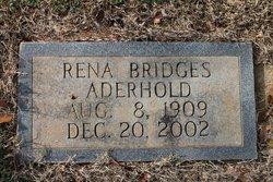 Rena E. <i>Bridges</i> Aderhold