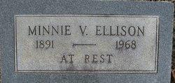 Minnie Viola <i>Woodrum</i> Ellison