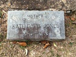 Kate <i>Davis</i> Jones