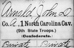 Pvt John D Arnold