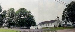 New Highland Baptist Church Cemetery