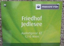 Friedhof Jedlesee