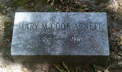 Mary M. <i>Cook</i> Arnett