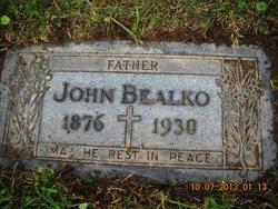 John Joseph Bealko, Sr