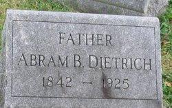 Abram B Dietrich