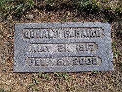 Donald G Baird