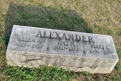 Eliza A Alexander