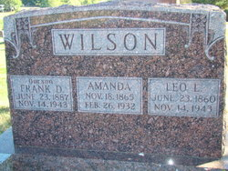 Amanda <i>Dallam</i> Wilson