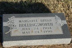 Margaret <i>Bryan</i> Hollingsworth