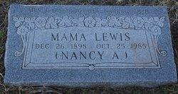 Nancy A Lewis