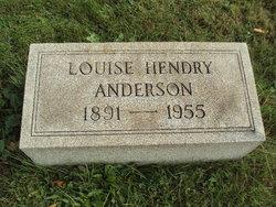 Magdalene Louise <i>Hendry</i> Anderson