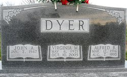 Virginia May <i>Stahl</i> Dyer