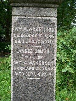 Annie <i>Smith</i> Ackerson