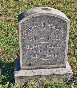 Olive <i>Doane</i> Mason