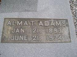 Alma <i>T.</i> Adams