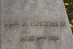 Ada Zilla <i>Smith</i> Longstreth