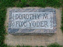 Dorothy Mae <i>Fox</i> Yoder