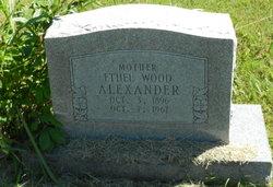 Ethel <i>Wood</i> Alexander