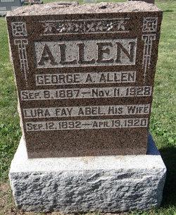 Lura Fay <i>Abel</i> Allen