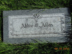 Abbie C Allen