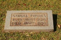 Samuel T Rhodes