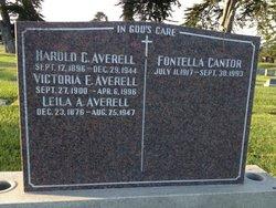 Helen Fontella Fontella <i>Fogelstrom</i> Cantor