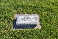 Catherine Elizabeth <i>Abhau</i> Kuester