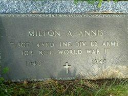 Milton Albert Uncle Miltie Annis