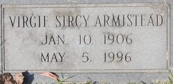 Virgie Cleola <i>Sircy</i> Armistead