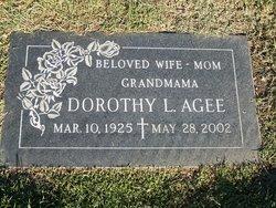 Dorothy Louise <i>Black</i> Agee