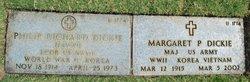 Margaret Elizabeth <i>Pettibone</i> Dickie