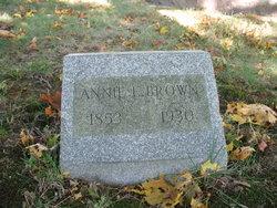Annie E. <i>Larcom</i> Brown