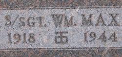 Sgt William Max Houk
