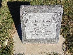 Celia Frances <i>Taylor</i> Adams