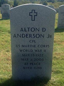 Alton D Anderson, Jr