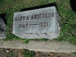 Mary Ann <i>Gant</i> Anderson
