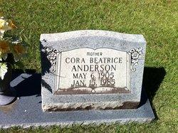 Cora Beatrice <i>Beech</i> Anderson