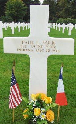PFC Paul Lemuel Folk