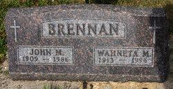Wahneta Mae <i>Kelly</i> Brennan