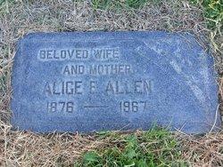 Alice Elizabeth <i>Corbridge</i> Allen