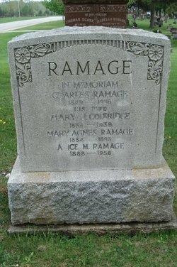 Mary J <i>Coleridge</i> Ramage