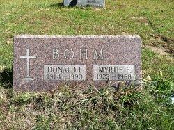 Myrtie F. Bohm