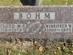 Winnifred <i>Walker</i> Bohm