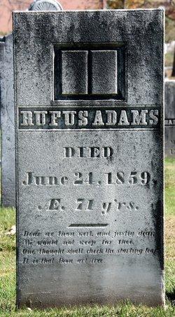 Rufus Adams