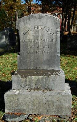 Catherine Kate <i>Hubbard</i> Chamberlin